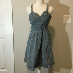 Quicksilver Womens Denim Flare Dress